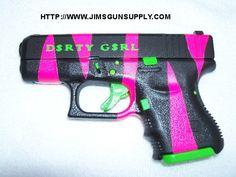 I'm a girl...I like guns....I like pretty stuff....why not combine them?love this one!