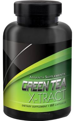 Advanta Supplements Green Tea Xtract 500mg 60 Capsules >>> Click image for more details. (This is an affiliate link)
