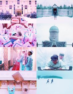 The Grand Budapest Hotel by Wes Anderson (2014) Terrific & hilarious film! What a story!
