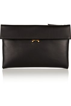 leather clutch / marni