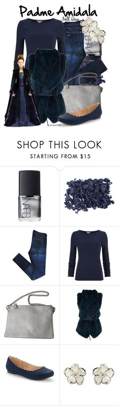 """""""Padme Amidala, Fall Day"""" by amarie104 ❤ liked on Polyvore featuring NARS Cosmetics, rag & bone, Jil Sander, Vince, LC Lauren Conrad and Shaun Leane"""