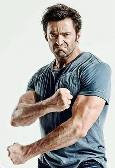 Another breathtaking photo of Hugh and his killer arms!
