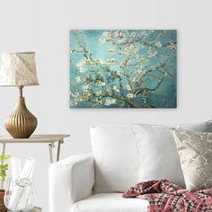 Shop for Vincent Van Gogh 'Branches with Almond Blossom' Canvas Art. Free…