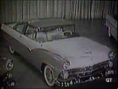 pretty nice db0c2 9f2cb 1955 Ford Classic Car TV Commercial Ford Classic Cars, Tv Commercials, Retro  Cars,