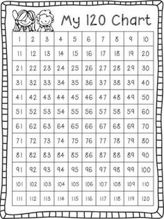 What Happens in First Grade: FREE printable 100 chart