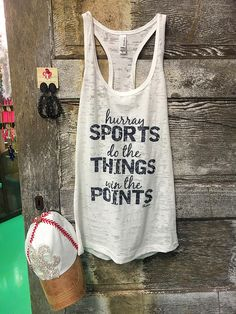 Follow us on Instagram & shop our website! http://www.frogstones.boutique/products/hurray-sports-tank?utm_campaign=social_autopilot&utm_source=pin&utm_medium=pin