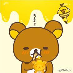 Rilakkuma with Honey (*^◯^*)