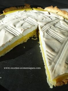 tarte citron thermomix Meringues Thermomix, Dessert Thermomix, Thermomix Bread, Bread Cake, Beignets, No Cook Meals, A Food, Biscuits, Sweets