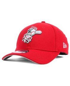 New Era Cincinnati Reds Core Classic 39THIRTY Cap - Red S/M