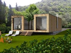 Container House - Container House - Who Else Wants Simple Step-By-Step Plans To Design And Build A Container Home From Scratch? - Who Else Wants Simple Step-By-Step Plans To Design And Build A Container Home From Scratch? Building A Container Home, Container Buildings, Container House Plans, Storage Container Houses, Prefabricated Houses, Prefab Homes, Modular Homes, Shipping Container Home Designs, Container Design