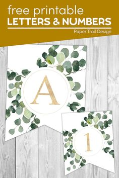 Print these decorative banner letters and numbers for a wedding, birthday, bridal shower, baby shower, Mother's Day, or any event or holiday you need a banner for. Banner Letters, Letters And Numbers, Shower Baby, Baby Showers, Bridal Shower, Party Printables, Free Printables, Create Your Own Calendar, Birthday Parties