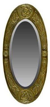 Scottish Arts and Crafts copper mirror in Pictures and Mirrors