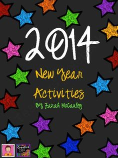 New Years Activity Packet from ZanahMcCauley on TeachersNotebook.com -  (11 pages)  - New Year's Activity Packet Free Download