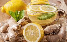 Citrónovo zázvorový detoxikačný nápoj
