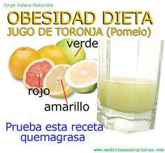 obesidad dieta de toronja
