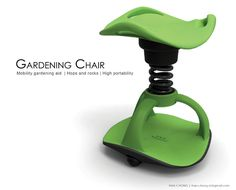 Gardening Chair. Repin from Selda Griffiths.