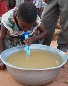 Filtro d'emergenza per l'acqua LifeStraw