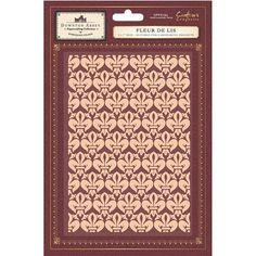 Crafters Companion   Downton Abbey 5x7 Embossing Folders