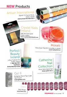 New Nail Products 2014