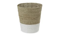 Seagrass Waste Basket at Laura Ashley