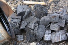 If a tree falls in the woods, Make Charcoal.  How-to