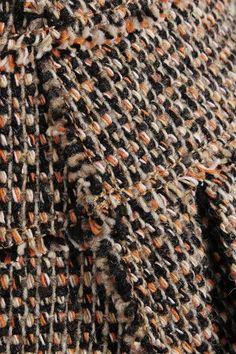 Chloé - Wool-blend Tweed Shorts - Brown - FR44