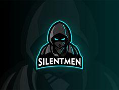 Assasis mascot logo design silentme m Premium Vector Logo Desing, Game Logo Design, Logo Design Template, Logo Templates, Typography Logo, Art Logo, Logo Branding, Vintage Logo Design, Logo Vintage