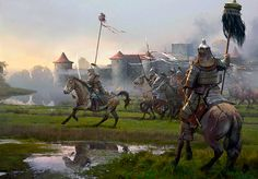 """After the Battle of Legnica, 9 April 1241"""
