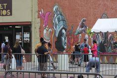 Alleyway art Alleyway, Chalk Art, Art Festival, Buffalo, Street View, Water Buffalo