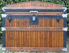 A beautiful Martin Maier trunk that has been fully restored. A very exceptional and rare piece.
