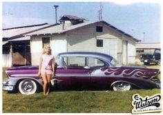 "John ""Buzzy"" Busman's 1956 Chevy Hard Top - side"