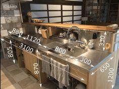 The Best Kitchen Design Minimalis - Kitchen Ideas - Kitchen Cafe Shop Design, Restaurant Interior Design, Kitchen Interior, Kitchen Decor, Kitchen Ideas, Restaurant Kitchen Design, Deco Restaurant, Design Kitchen, Commercial Kitchen Design