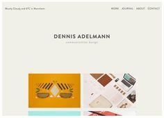 Love this portfolio design! http://www.dennisadelmann.de/