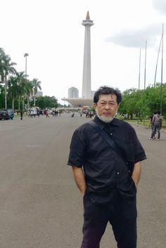 MOHD HATTA ISMAIL DIA ArT TRAVeL  ATeLIER DiA TRAVeL  MonAS JAKARTA INDONESIA