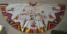 Gorgeous Hacienda Circle Skirt signed by Madalyn Miller, Original Vintage South Of The Border, Dancers, Musicians, 1950s, Special Occasion, Personal Style, Vintage Fashion, Skirt, Signs