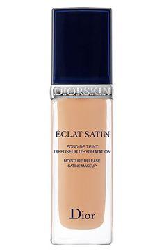 Dior 'Diorskin Éclat Satin' Moisture Release Satin Makeup available at #Nordstrom