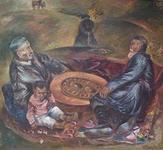 Kazakh artist Marat Turgymbai.