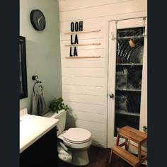 Primary shiplap in bathroom around tub for your cozy home