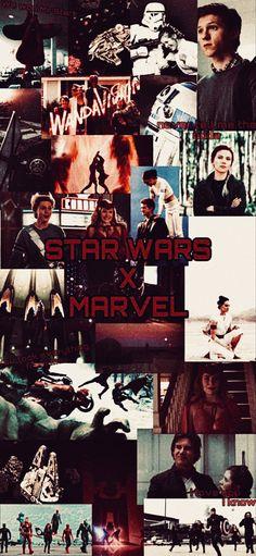 Star Wars Wallpaper, Marvel Wallpaper, Marvel Wall Art, Anakin Skywalker, Marvel X, Star Wars Art, Clone Wars, Marvel Cinematic Universe, Crossover