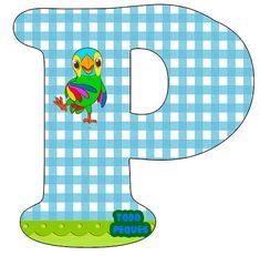 Letras La Granja de Zenon Abecedario para descargar gratis | Todo Peques Alphabet Templates, Tidy Up, Birthdays, Kids Rugs, Letters, Invitations, Erika, Home Decor, Underwear