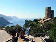 Mirador de ses Animes, Banyalbufar, Tramuntana Mountains, Mallorca