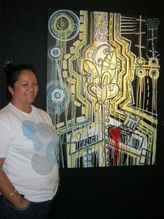 Maori Visual and Performing Artist Nz Art, Madhubani Art, Maori Art, Doodles Zentangles, 2 Colours, Doodle Art, Art Inspo, Painting & Drawing, Abstract Art