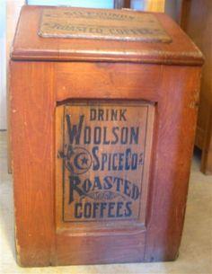Woolson Coffee Box