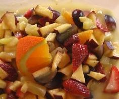 Creamy Fruit Salad (from Weight Watchers Recipes)