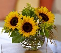 Sunflower Centerpieces                                                                                                                                                      More