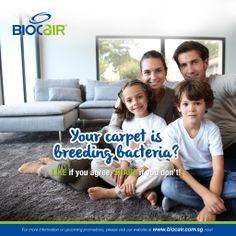 Your carpet is breeding bacteria?