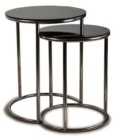 Another great find on #zulily! Bright Finish Nesting Table Set #zulilyfinds