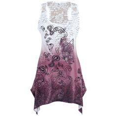 Lace Panel Vest - Naisten toppi - Innocent - Tuotenumero: 206661 - alkaen 22,99 € - EMP.fi koko XL