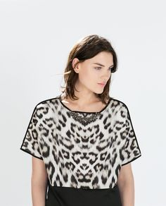Image 6 of PRINTED T-SHIRT from Zara