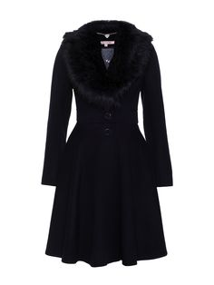 Minorca Coat | Midnight | Coat Beautiful Outfits, Cute Outfits, Modest Fashion, Fashion Outfits, Cute Coats, Vintage Inspired Fashion, Cold Weather Fashion, Review Fashion, Cute Jackets